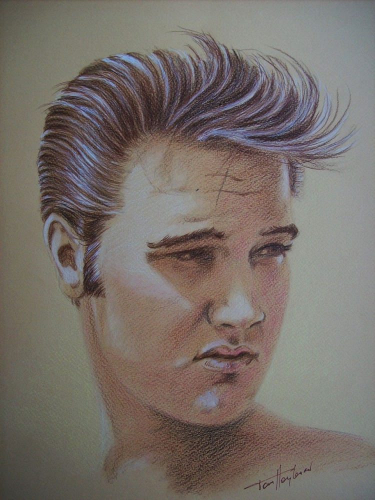 Elvis Presley by Tom-Heyburn
